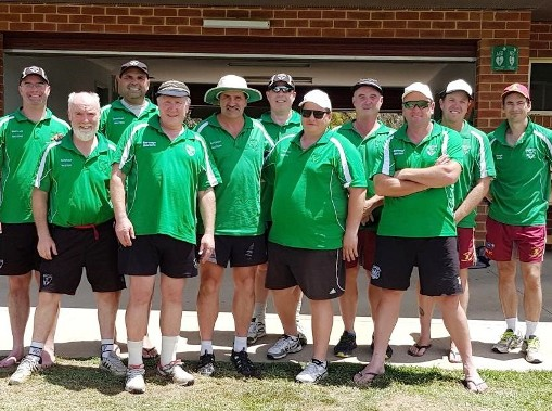 Here;s the Round 1 team which set us on our winning ways. L-R: Michael Cumbo, Allan Cumming, Amit Chaudhary, Peter Golding, Tony Gleeson, Daniel Phillips, Mark Gauci, Sean O'Kane, Adam Chapple, Travis Gow and Justin Maley.