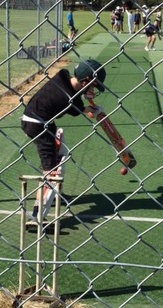 We've got some talented batsmen coming through the junior grades.