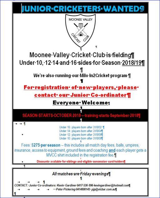 Join Moonee Valley