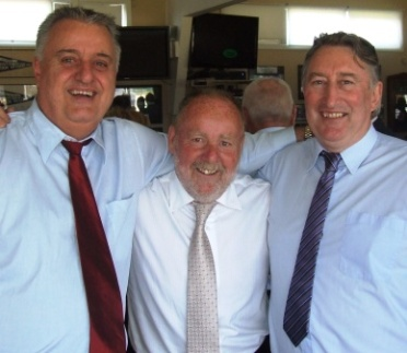 Three of PG's great mates - from their younger days and cricket together - were L-R Warwick Knill, Garry Noonan and Alan Sutherland.