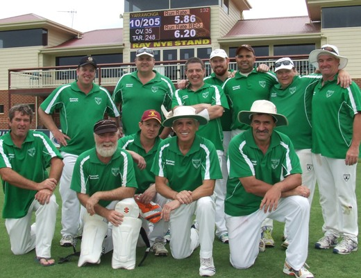 Our team for Game 2: L-R. Back - Travis Gow, Dale Hadfield. Daniel Phillips, Nate Wolland, Amit Chaudhary, Mark Gauci, Sean O'Kane. Front - Wes Sutton, Allan Cumming, Matt Dimble, Neil King, Tony Gleeson.