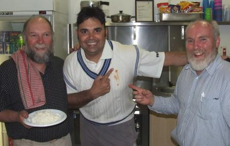 Chefs Peter Fenaughty, Amit Chaudhary and Allan Cumming